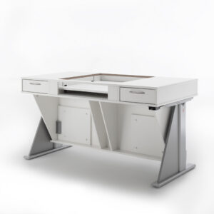 Q-Table Long Arm Product Front View